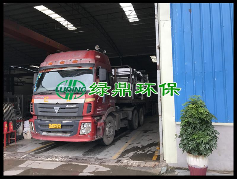 标准带式压滤机发货广西印染厂现场 4