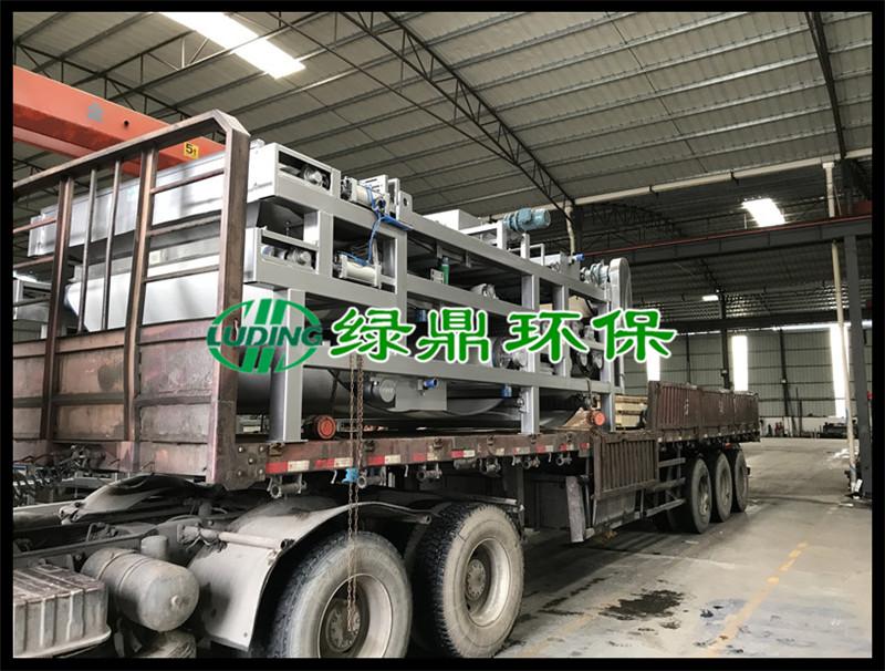 标准带式压滤机发货广西印染厂现场 3