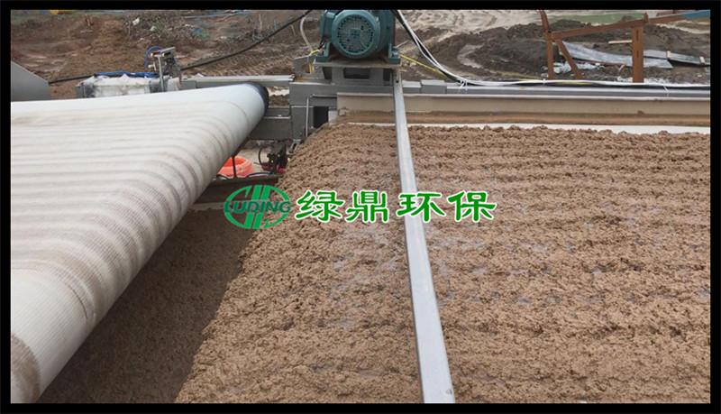 带式压滤机处理洗砂厂泥浆(河南禹州) 10