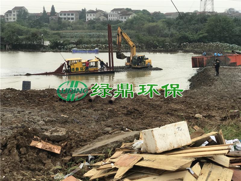龙阳湖清淤工程,还武汉一泓清水让你爱上武汉! 3