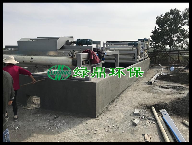 带式压滤机处理洗砂厂泥浆(河南禹州) 6