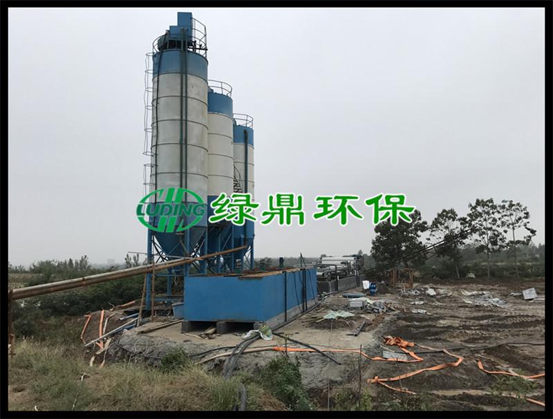 带式压滤机处理洗砂厂泥浆(河南禹州) 1