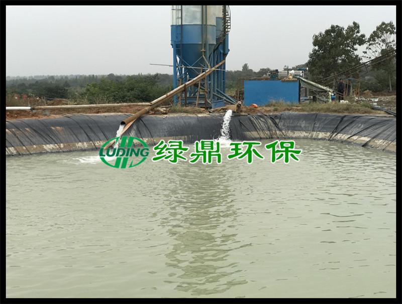 带式压滤机处理洗砂厂泥浆(河南禹州) 3