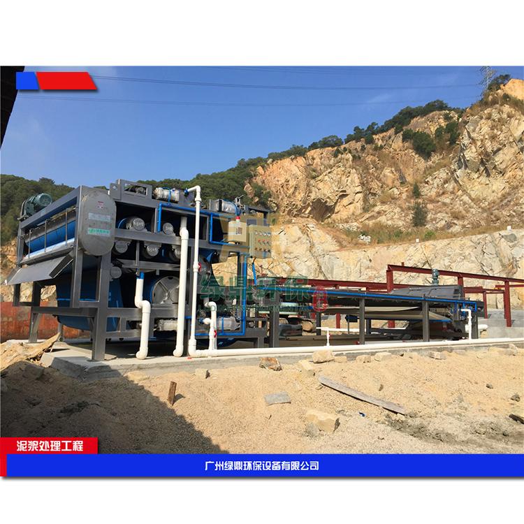 长沙建筑工地污泥脱水机 建筑泥浆脱水机环保工程处理方案工艺流程 3