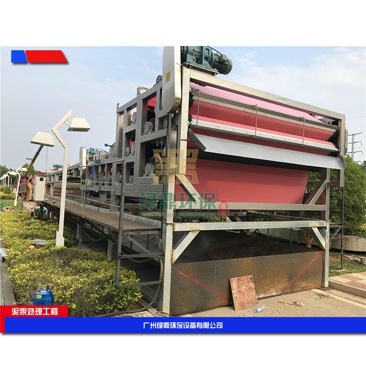 阳江建筑工地污泥处理 建筑泥浆脱水机环保工程处理方案工艺流程 4