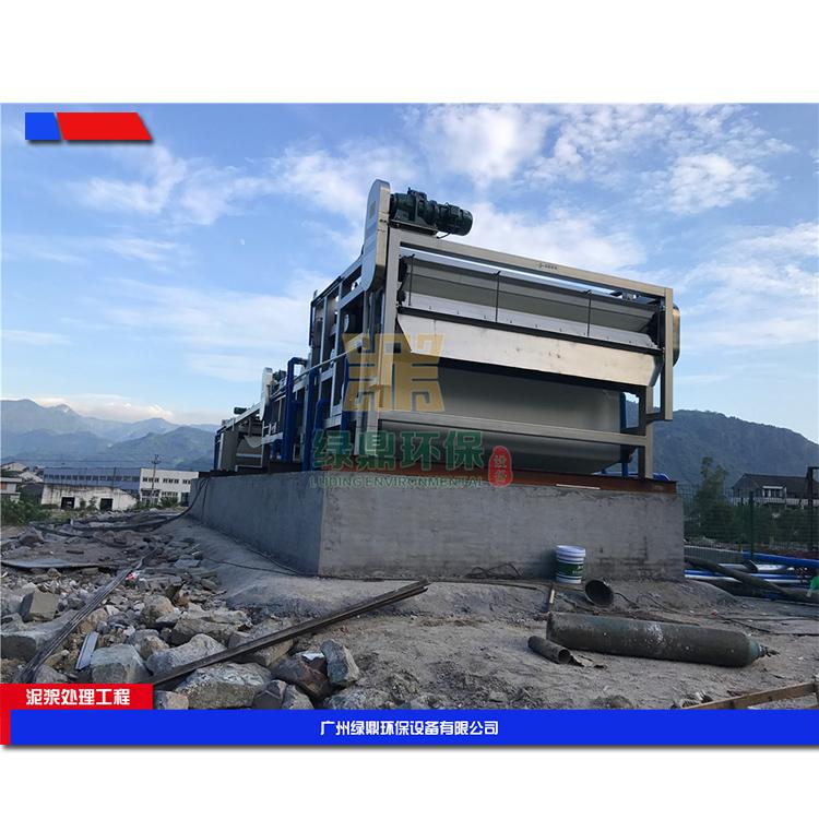 云南建筑打桩污泥的处理 城市建筑污泥处理设备环保工程处理方案工艺流程 4