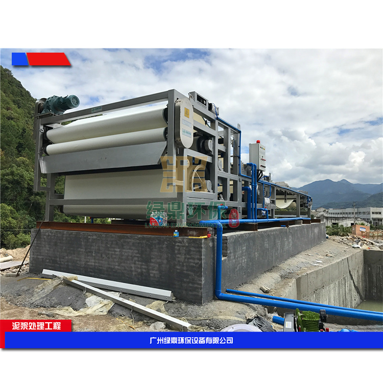 云南建筑打桩污泥的处理 城市建筑污泥处理设备环保工程处理方案工艺流程 3