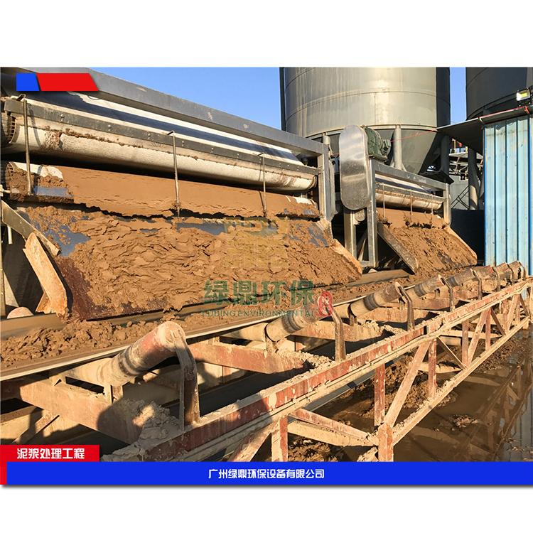 株洲建筑工地污泥处理设备 建筑打桩污泥处理设备环保工程处理方案工艺流程 4