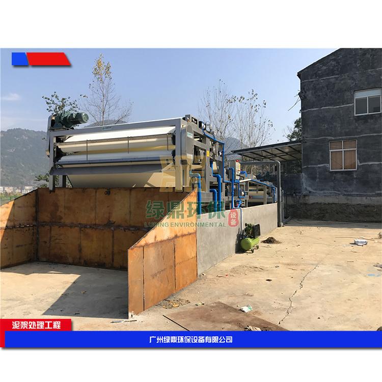 株洲建筑工地污泥处理设备 建筑打桩污泥处理设备环保工程处理方案工艺流程 3