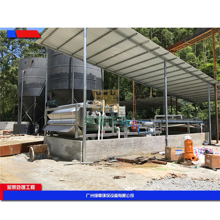 郑州城市建筑污泥处理设备 建筑垃圾污泥脱水机环保工程处理方案工艺流程 3