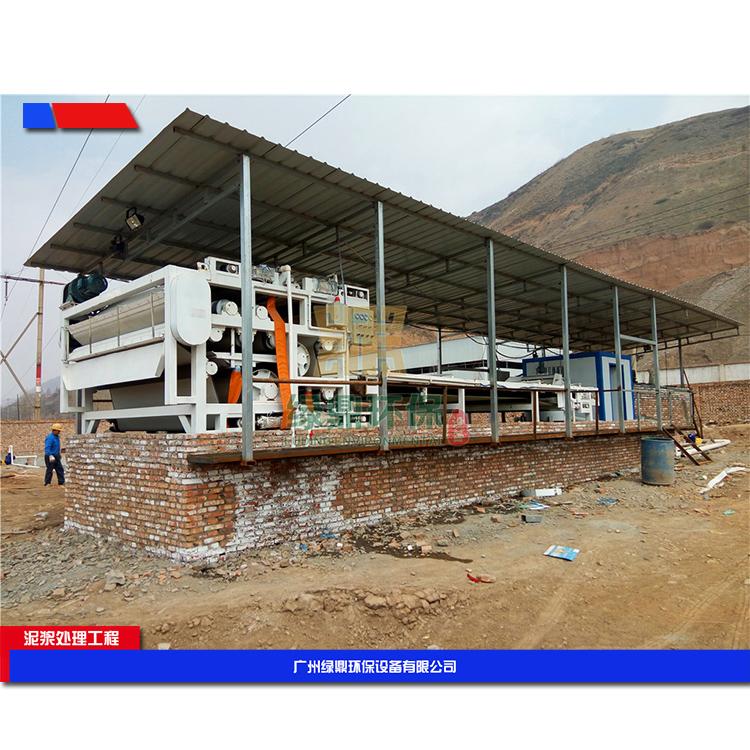 郑州城市建筑污泥处理设备 建筑垃圾污泥脱水机环保工程处理方案工艺流程 4
